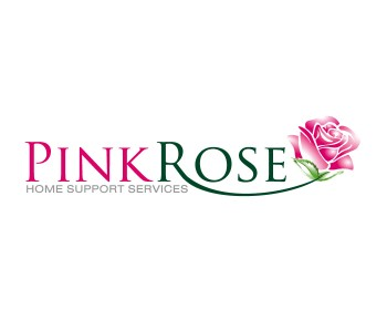 Logo Design by ysonmez - Entry No. 78 in the Logo Design Contest Pink Rose Home Support Services.