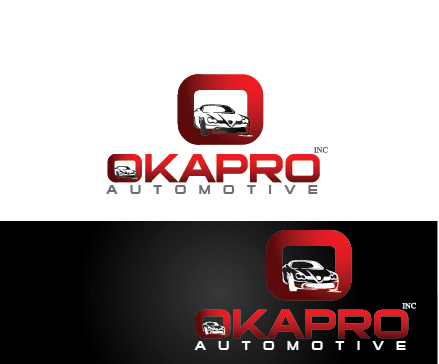Logo Design by Private User - Entry No. 77 in the Logo Design Contest New Logo Design for Okapro  Automotive  Inc.