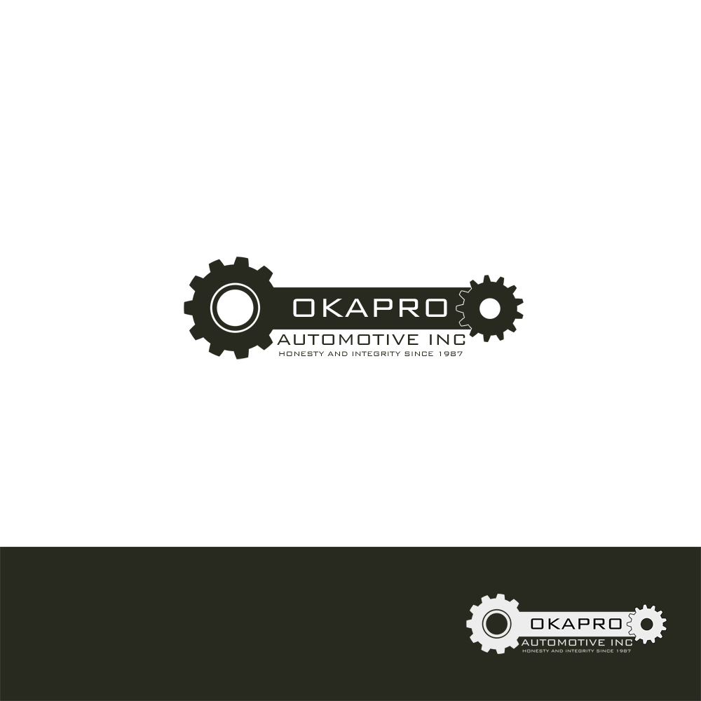 Logo Design by Utkarsh Bhandari - Entry No. 78 in the Logo Design Contest New Logo Design for Okapro  Automotive  Inc.