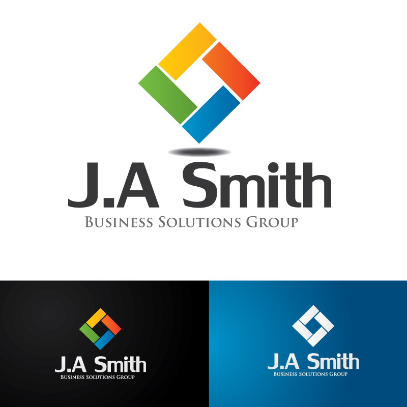 Logo Design by Subha Islam - Entry No. 58 in the Logo Design Contest J. A. Smith Business Solutions Group.