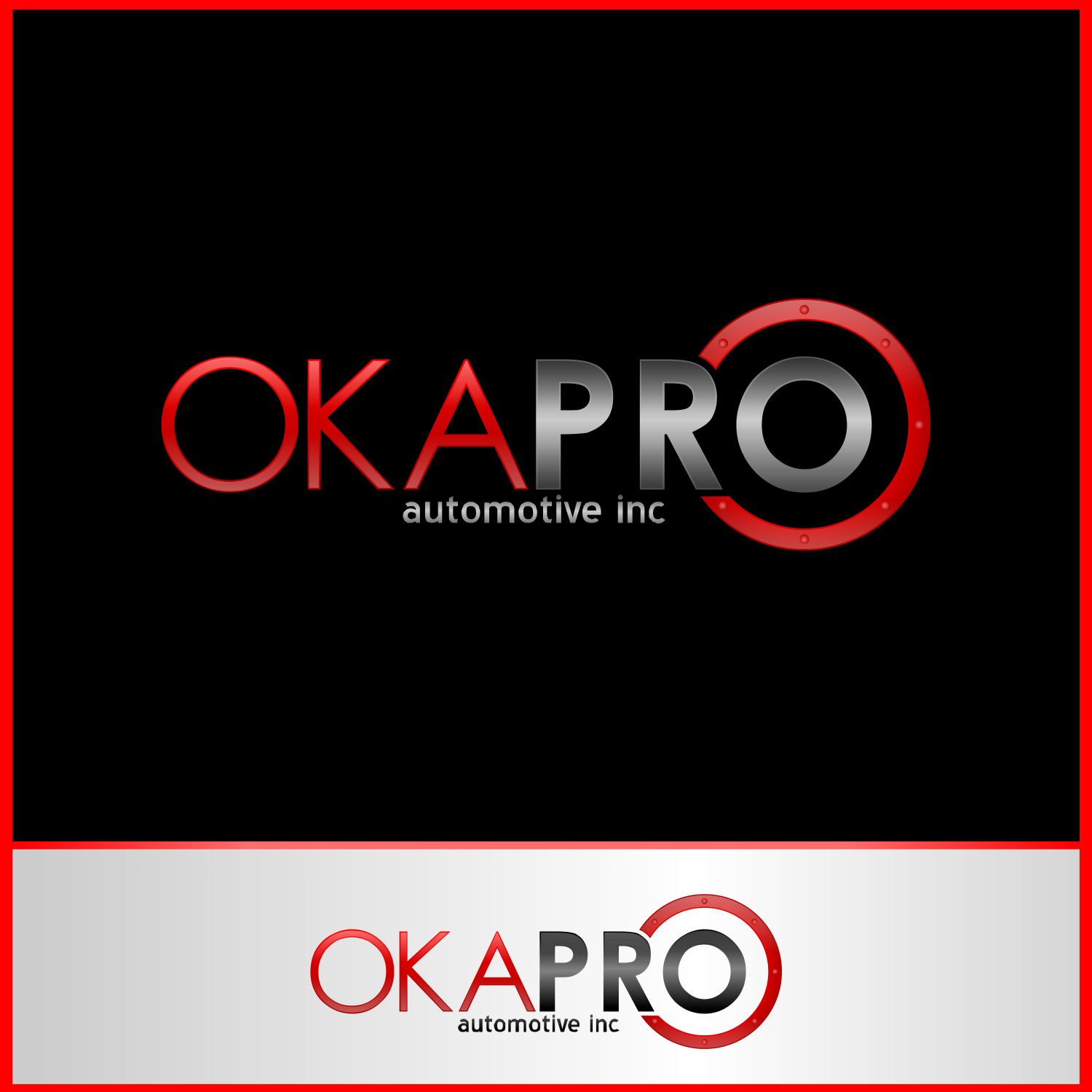 Logo Design by Private User - Entry No. 80 in the Logo Design Contest New Logo Design for Okapro  Automotive  Inc.