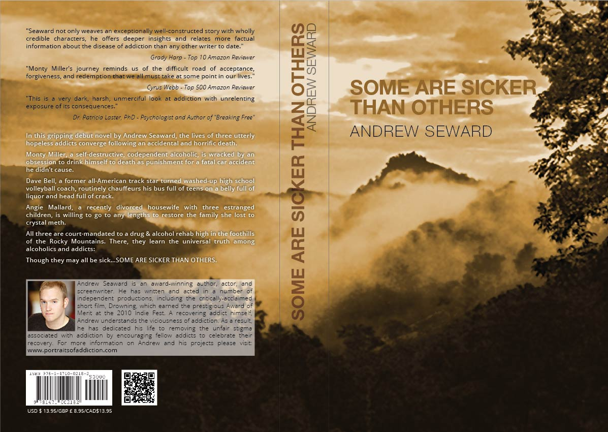 Book Cover Design by Shahriar Zaman - Entry No. 27 in the Book Cover Design Contest Inspiring Book Cover Design for Some Are Sicker Than Others.