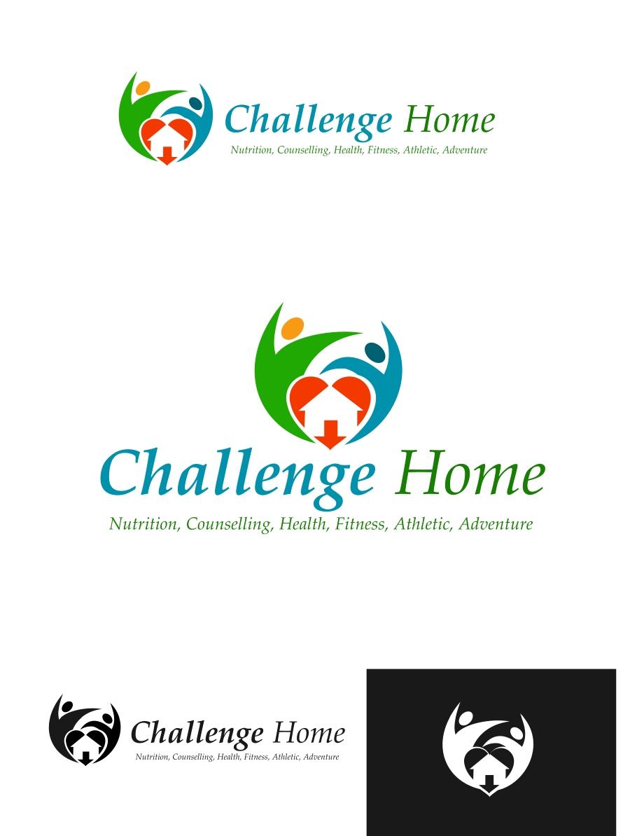 Logo Design by Private User - Entry No. 77 in the Logo Design Contest Unique Logo Design Wanted for Challenge Home.