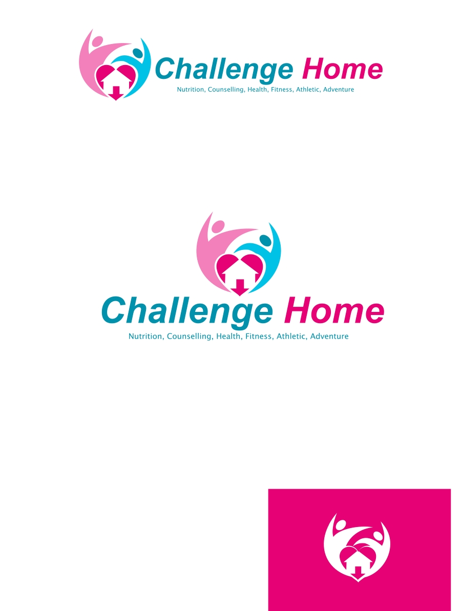 Logo Design by Private User - Entry No. 78 in the Logo Design Contest Unique Logo Design Wanted for Challenge Home.
