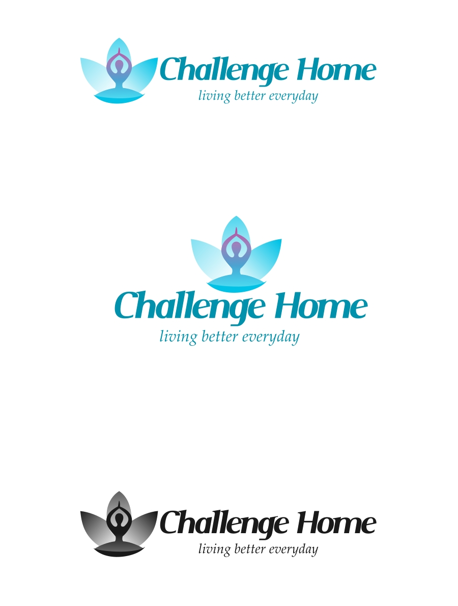Logo Design by Private User - Entry No. 79 in the Logo Design Contest Unique Logo Design Wanted for Challenge Home.