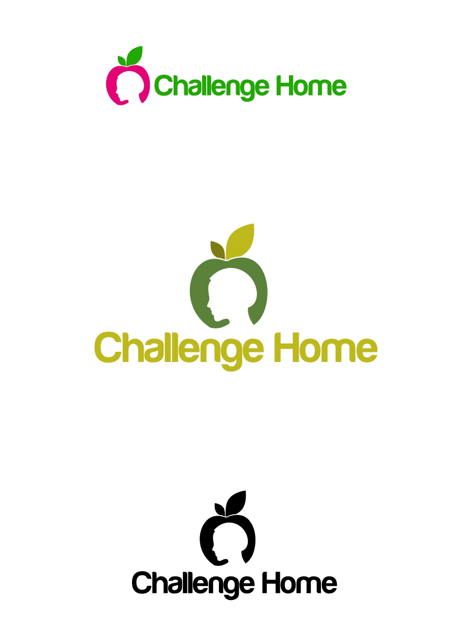 Logo Design by Private User - Entry No. 80 in the Logo Design Contest Unique Logo Design Wanted for Challenge Home.
