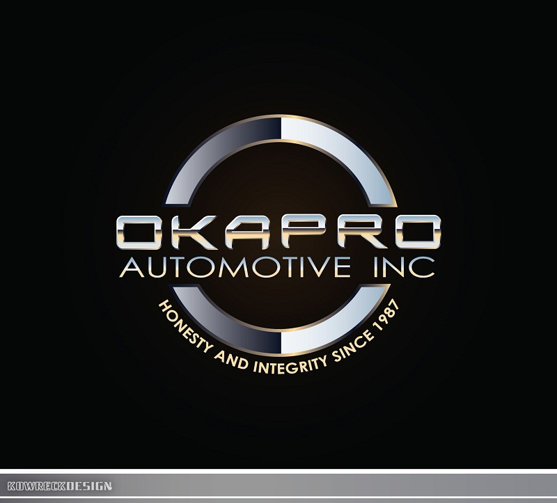 Logo Design by kowreck - Entry No. 83 in the Logo Design Contest New Logo Design for Okapro  Automotive  Inc.