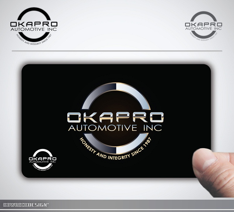 Logo Design by kowreck - Entry No. 84 in the Logo Design Contest New Logo Design for Okapro  Automotive  Inc.
