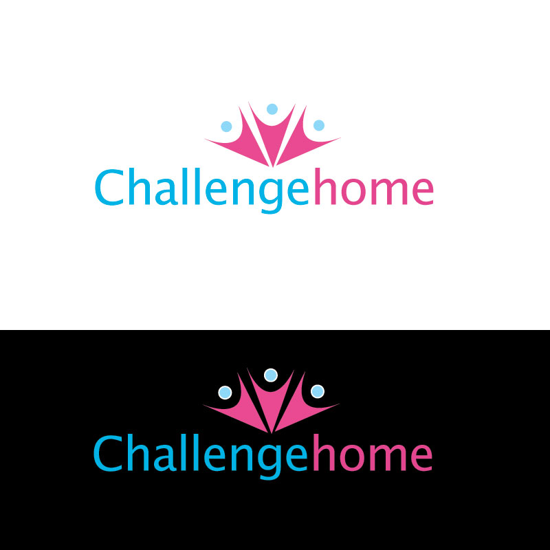Logo Design by Private User - Entry No. 83 in the Logo Design Contest Unique Logo Design Wanted for Challenge Home.
