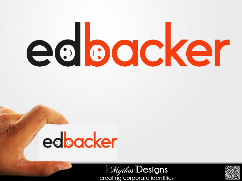 Logo Design by Mythos Designs - Entry No. 69 in the Logo Design Contest New Logo Design for edbacker.