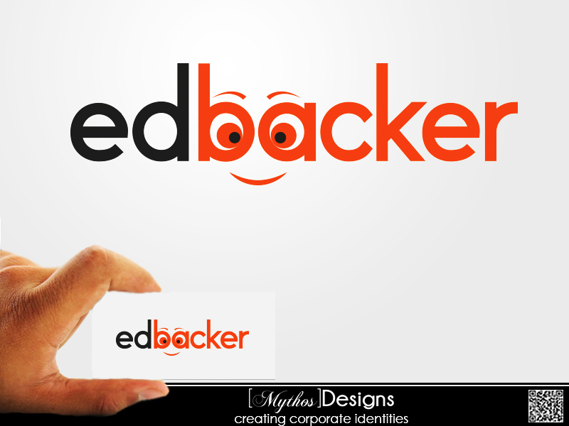 Logo Design by Mythos Designs - Entry No. 70 in the Logo Design Contest New Logo Design for edbacker.