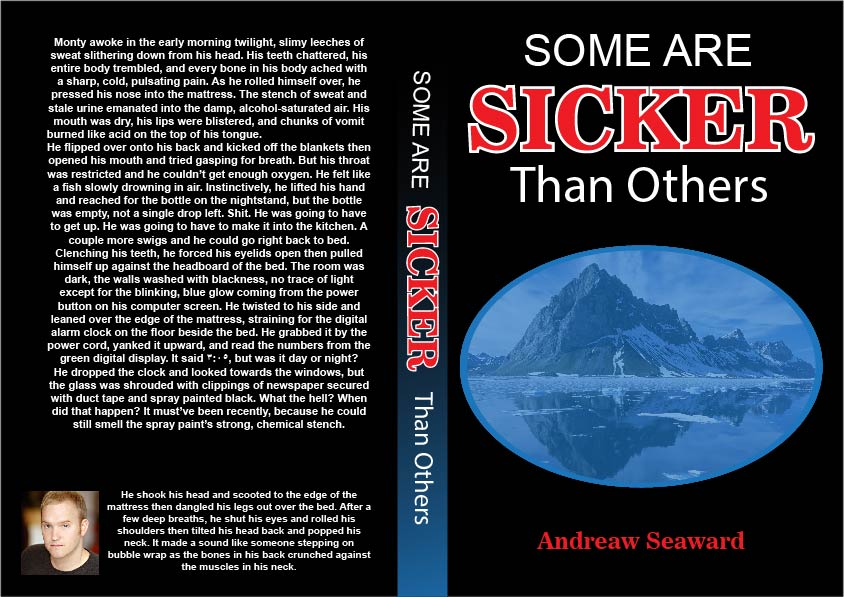 Book Cover Design by Mohamed Sheikh - Entry No. 33 in the Book Cover Design Contest Inspiring Book Cover Design for Some Are Sicker Than Others.
