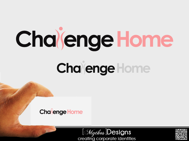 Logo Design by Mythos Designs - Entry No. 84 in the Logo Design Contest Unique Logo Design Wanted for Challenge Home.