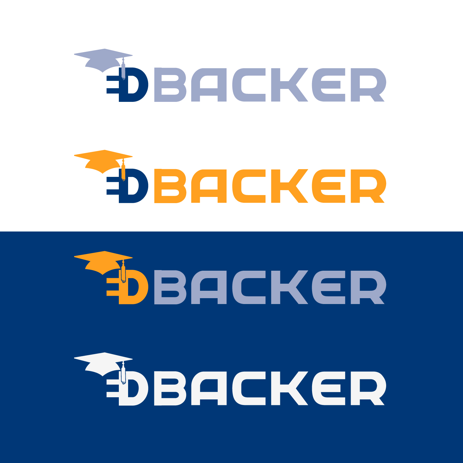 Logo Design by lagalag - Entry No. 71 in the Logo Design Contest New Logo Design for edbacker.