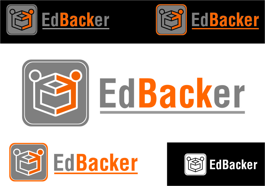 Logo Design by Ngepet_art - Entry No. 72 in the Logo Design Contest New Logo Design for edbacker.
