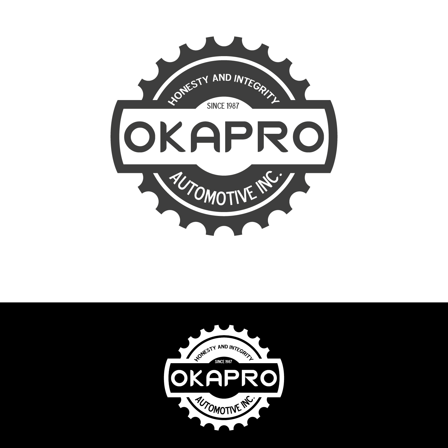 Logo Design by lagalag - Entry No. 89 in the Logo Design Contest New Logo Design for Okapro  Automotive  Inc.