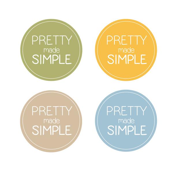 Logo Design by gkonta - Entry No. 106 in the Logo Design Contest Pretty Made Simple Logo Design.