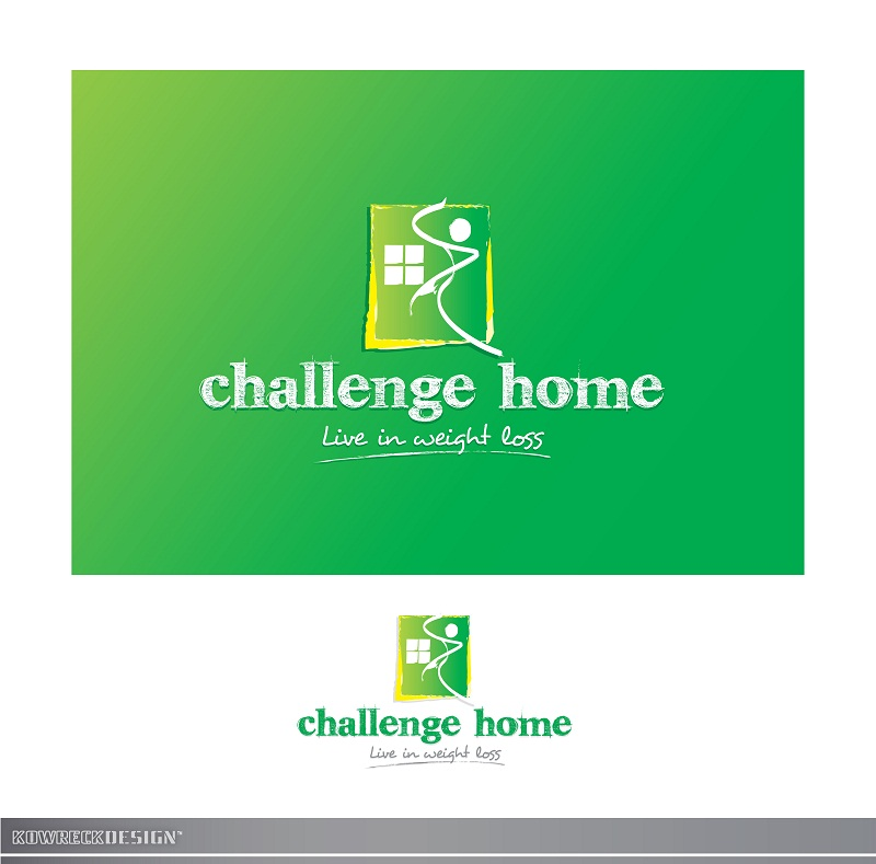 Logo Design by kowreck - Entry No. 101 in the Logo Design Contest Unique Logo Design Wanted for Challenge Home.