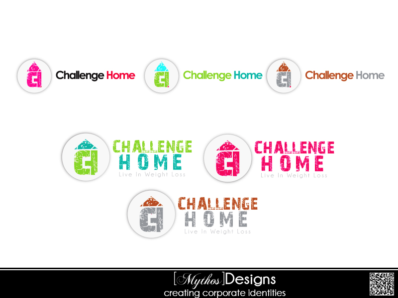Logo Design by Mythos Designs - Entry No. 103 in the Logo Design Contest Unique Logo Design Wanted for Challenge Home.