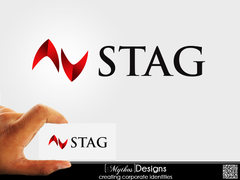 Logo Design by Mythos Designs - Entry No. 34 in the Logo Design Contest Unique Logo Design Wanted for Stag.
