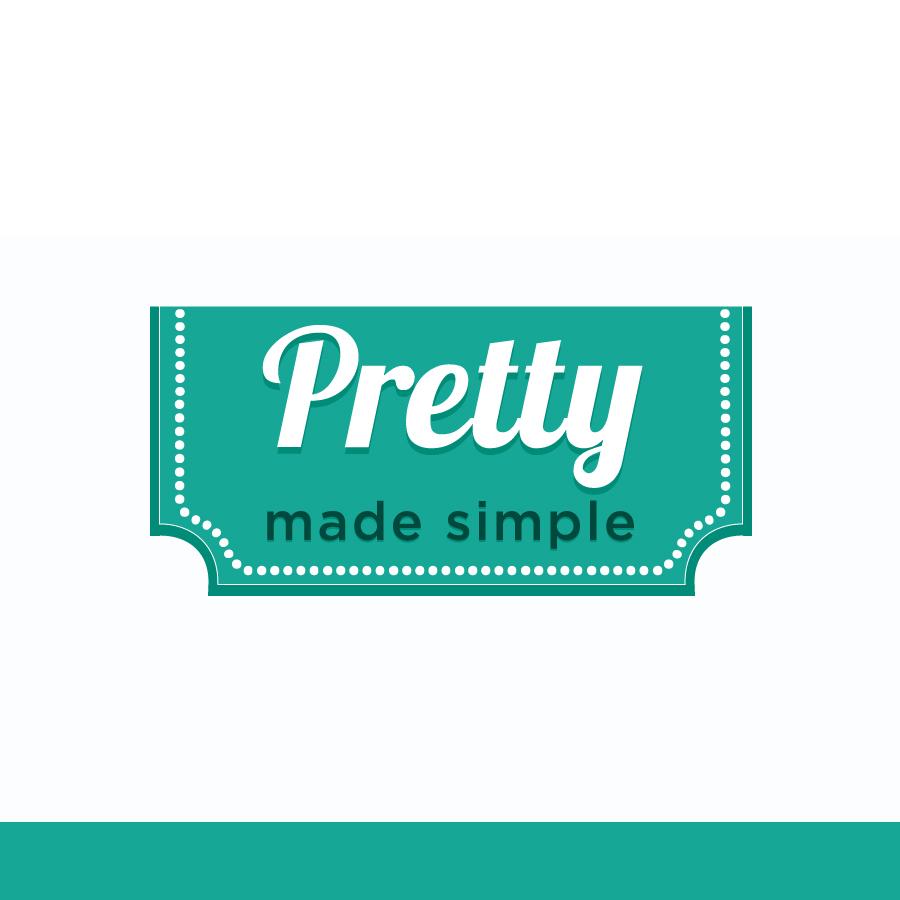 Logo Design by Edward Goodwin - Entry No. 112 in the Logo Design Contest Pretty Made Simple Logo Design.