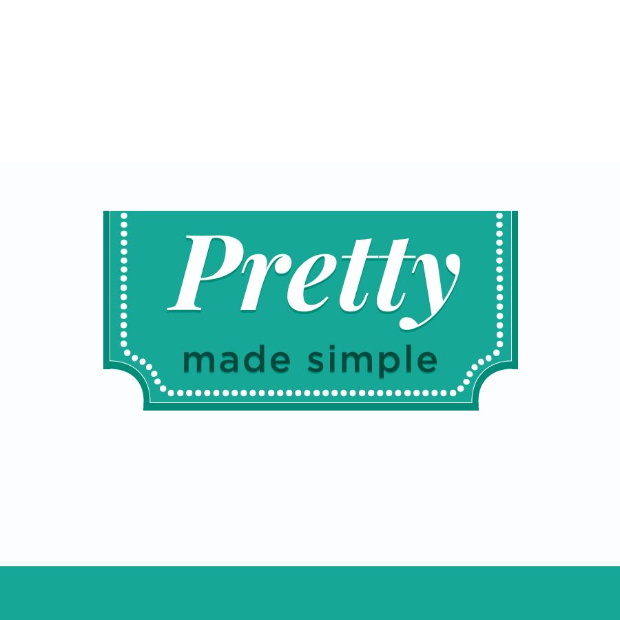 Logo Design by Edward Goodwin - Entry No. 113 in the Logo Design Contest Pretty Made Simple Logo Design.