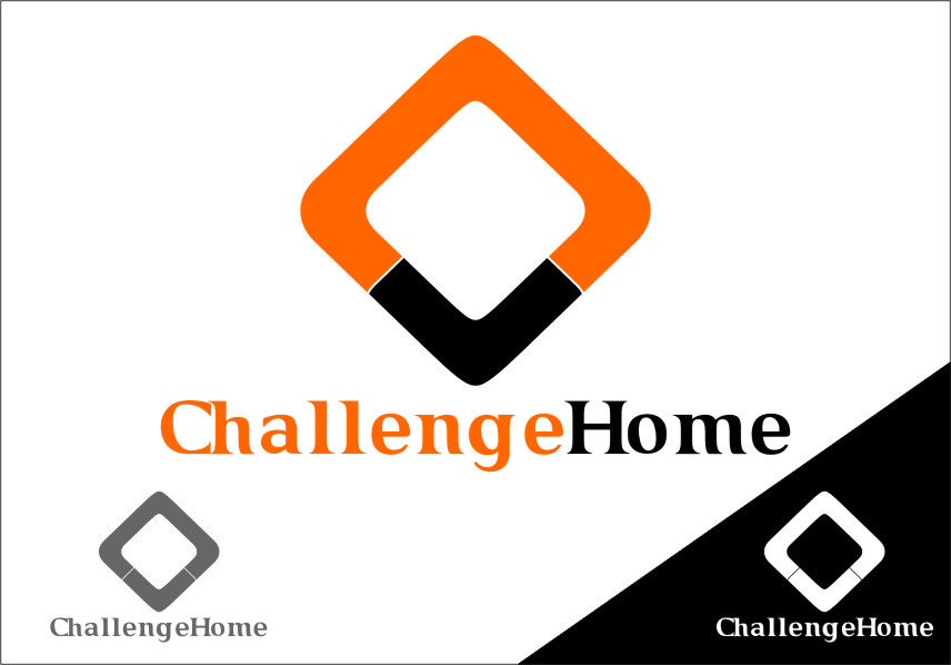 Logo Design by Ngepet_art - Entry No. 107 in the Logo Design Contest Unique Logo Design Wanted for Challenge Home.