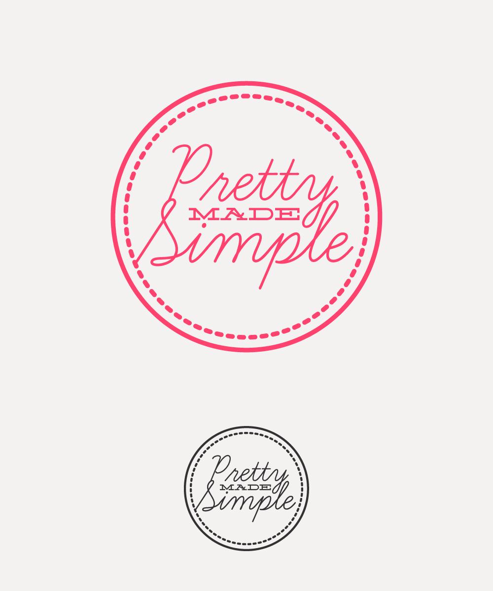 Logo Design by Mathias Frisa - Entry No. 115 in the Logo Design Contest Pretty Made Simple Logo Design.