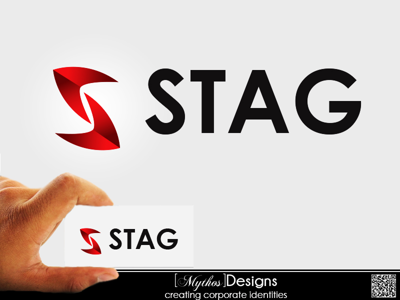 Logo Design by Mythos Designs - Entry No. 62 in the Logo Design Contest Unique Logo Design Wanted for Stag.