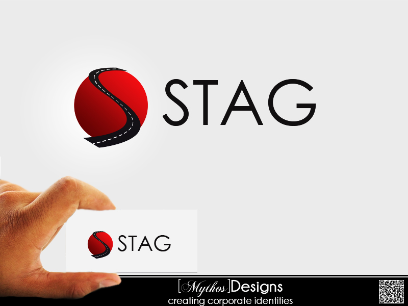 Logo Design by Mythos Designs - Entry No. 68 in the Logo Design Contest Unique Logo Design Wanted for Stag.