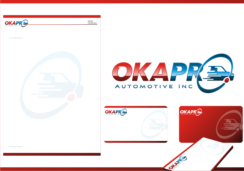 Logo Design by graphicleaf - Entry No. 92 in the Logo Design Contest New Logo Design for Okapro  Automotive  Inc.