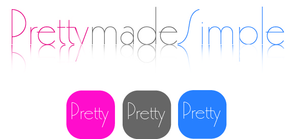 Logo Design by Martine Roy - Entry No. 117 in the Logo Design Contest Pretty Made Simple Logo Design.