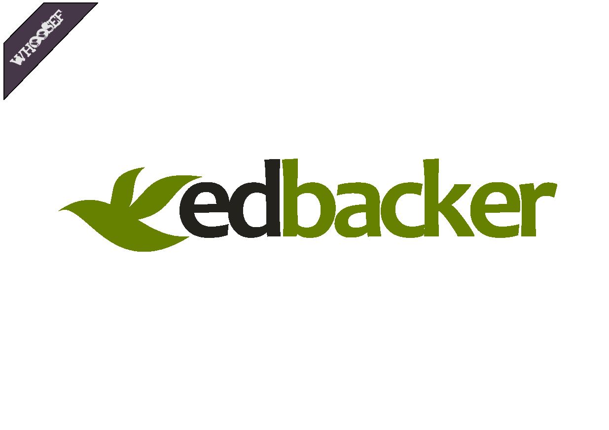 Logo Design by whoosef - Entry No. 80 in the Logo Design Contest New Logo Design for edbacker.