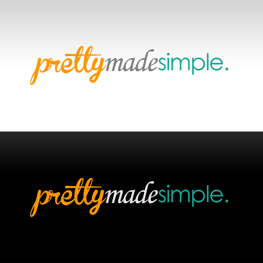 Logo Design by Kenneth Joel - Entry No. 118 in the Logo Design Contest Pretty Made Simple Logo Design.