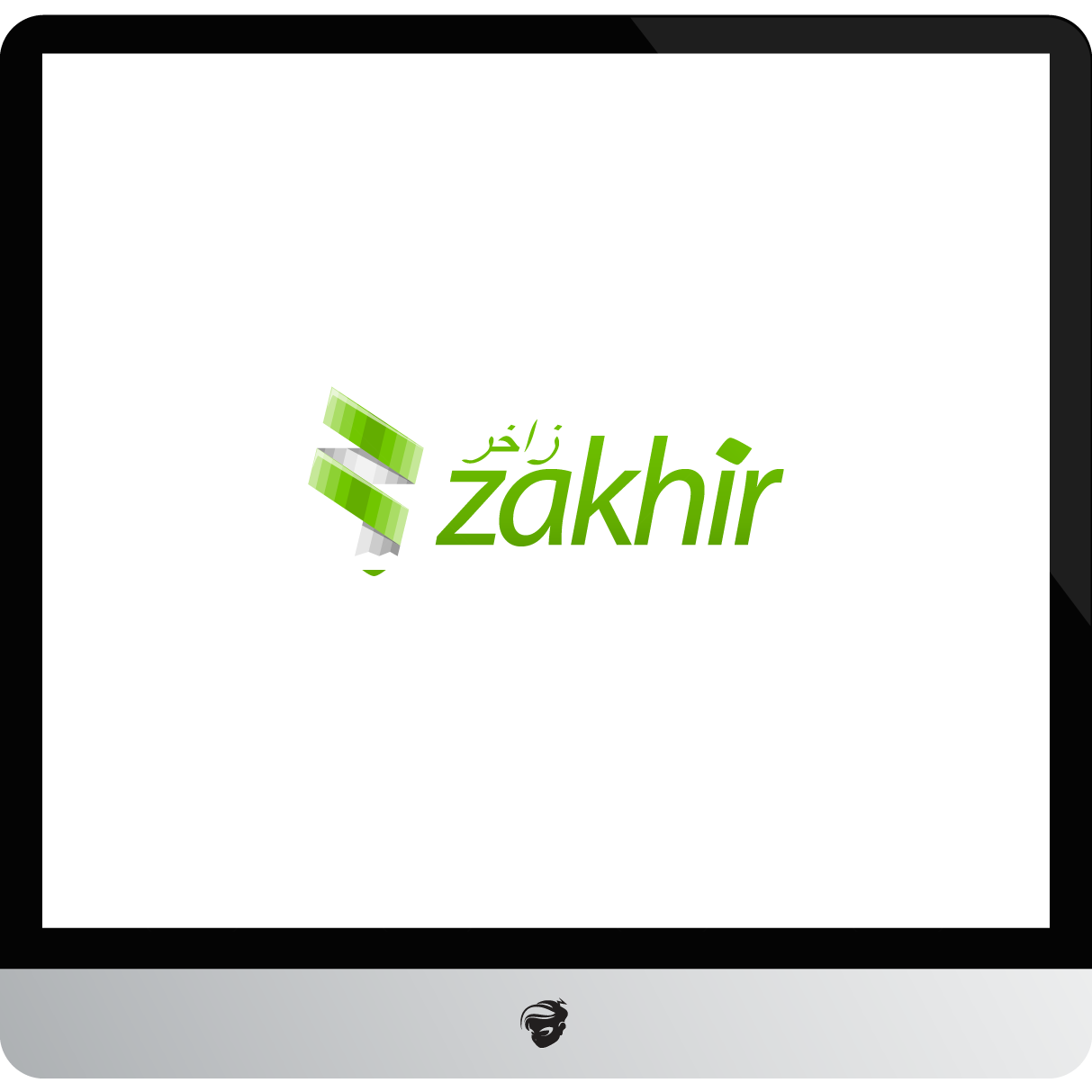 Logo Design by zesthar - Entry No. 100 in the Logo Design Contest Zakhir Logo Design.
