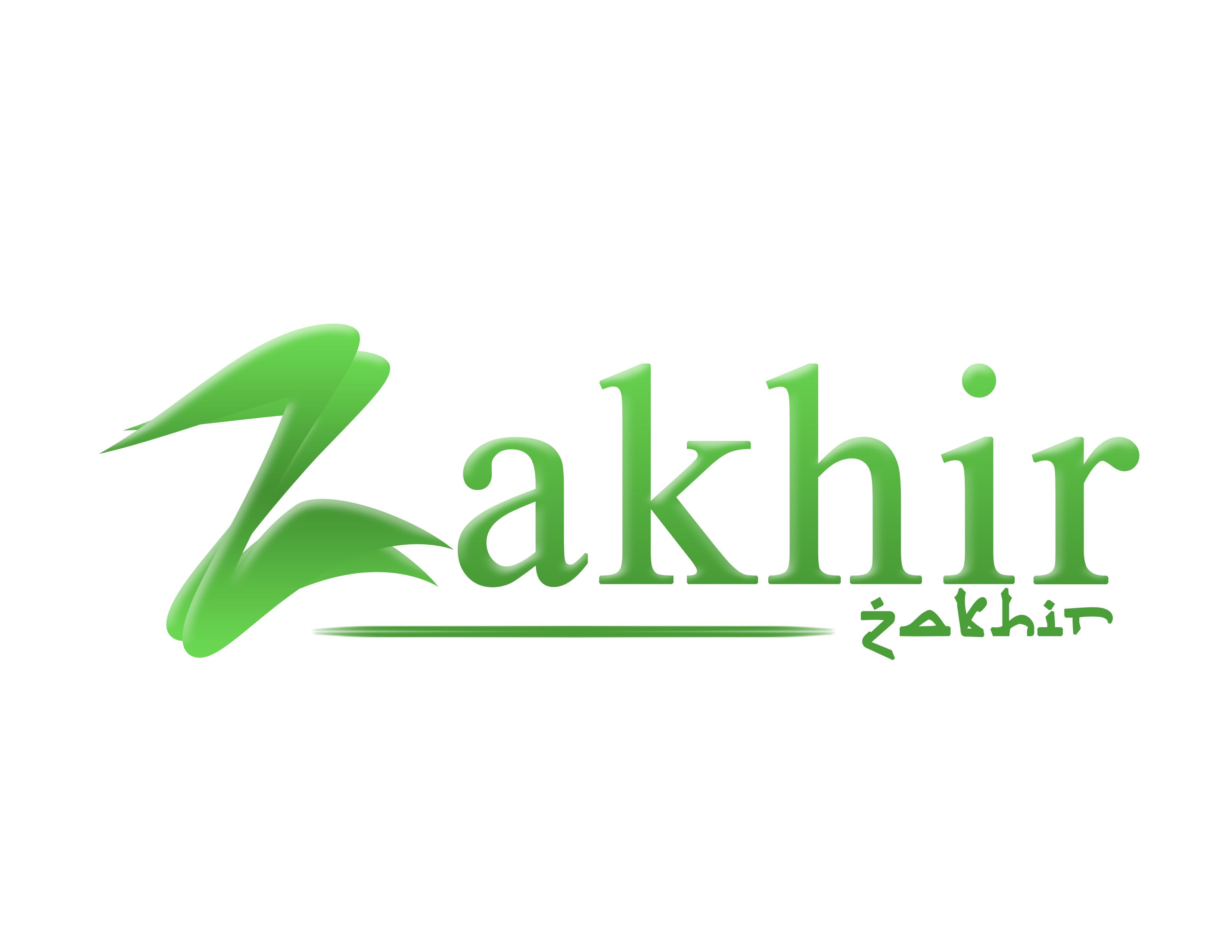 Logo Design by Private User - Entry No. 102 in the Logo Design Contest Zakhir Logo Design.
