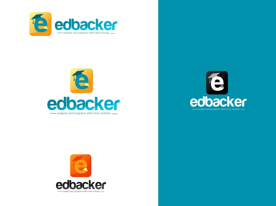 Logo Design by Private User - Entry No. 83 in the Logo Design Contest New Logo Design for edbacker.