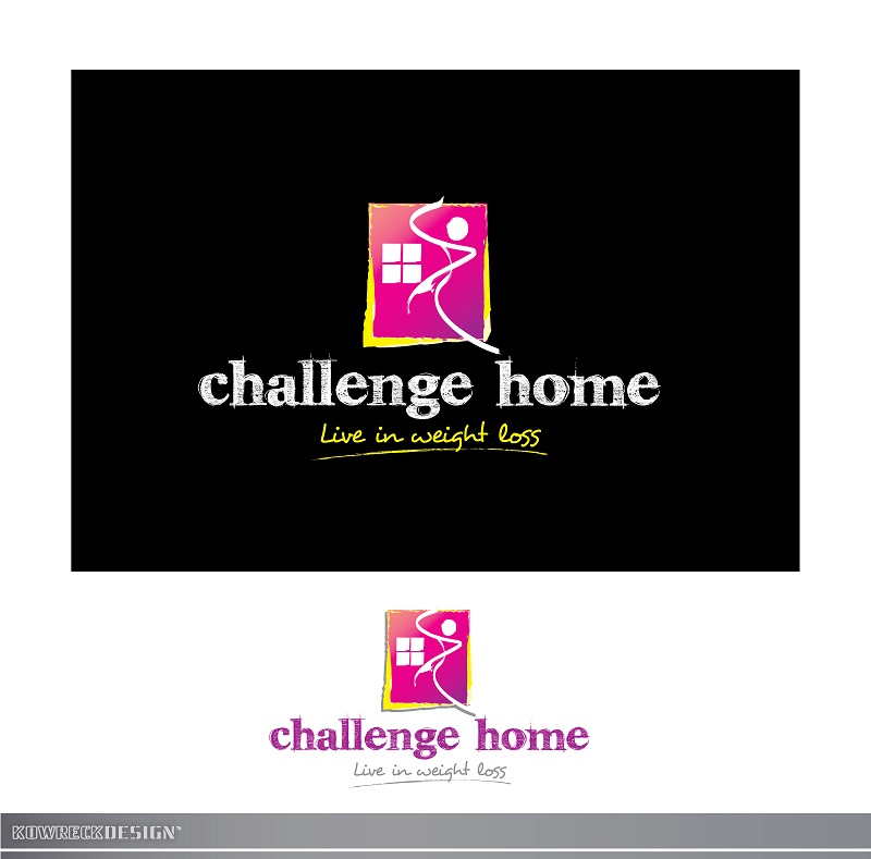 Logo Design by kowreck - Entry No. 116 in the Logo Design Contest Unique Logo Design Wanted for Challenge Home.