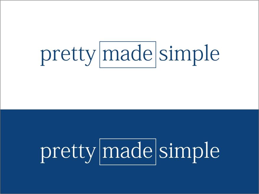Logo Design by RED HORSE design studio - Entry No. 123 in the Logo Design Contest Pretty Made Simple Logo Design.