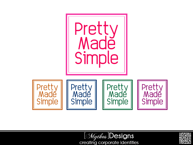 Logo Design by Mythos Designs - Entry No. 126 in the Logo Design Contest Pretty Made Simple Logo Design.