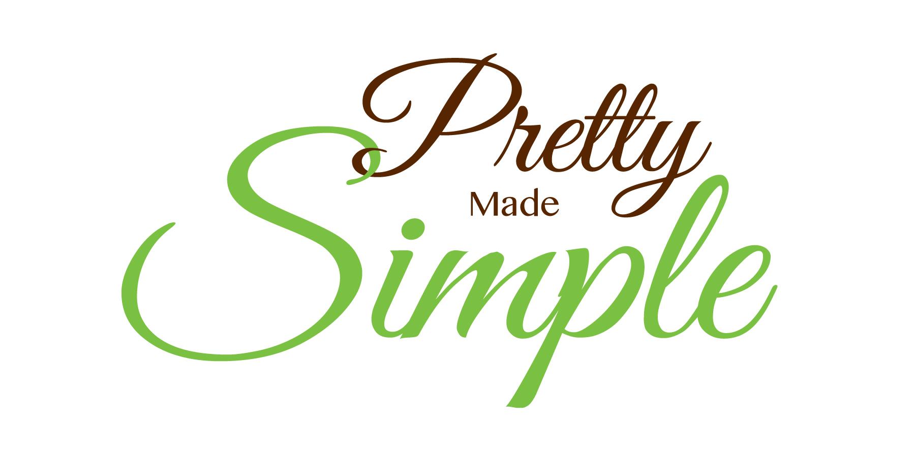 Logo Design by Diane Dunbrack - Entry No. 128 in the Logo Design Contest Pretty Made Simple Logo Design.