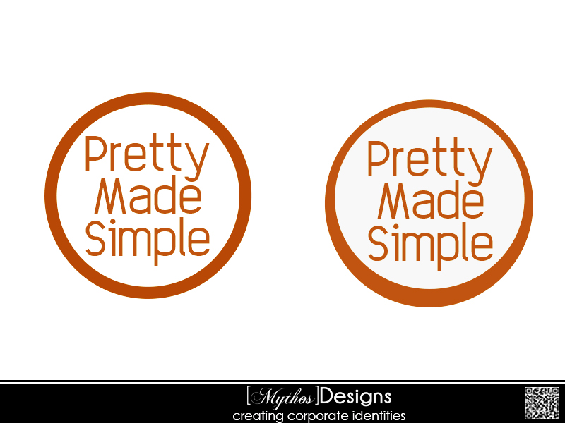 Logo Design by Mythos Designs - Entry No. 134 in the Logo Design Contest Pretty Made Simple Logo Design.