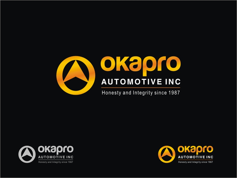 Logo Design by RED HORSE design studio - Entry No. 101 in the Logo Design Contest New Logo Design for Okapro  Automotive  Inc.