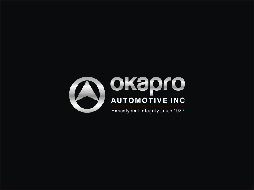 Logo Design by RED HORSE design studio - Entry No. 102 in the Logo Design Contest New Logo Design for Okapro  Automotive  Inc.