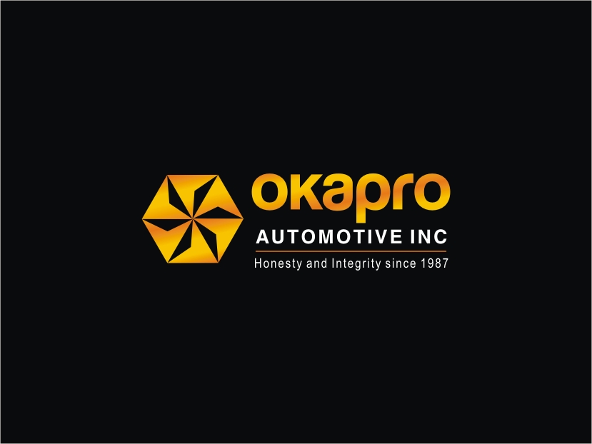 Logo Design by RED HORSE design studio - Entry No. 103 in the Logo Design Contest New Logo Design for Okapro  Automotive  Inc.