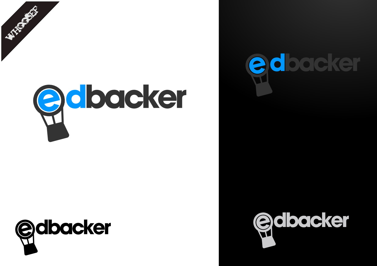 Logo Design by whoosef - Entry No. 92 in the Logo Design Contest New Logo Design for edbacker.