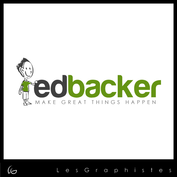 Logo Design by Les-Graphistes - Entry No. 98 in the Logo Design Contest New Logo Design for edbacker.