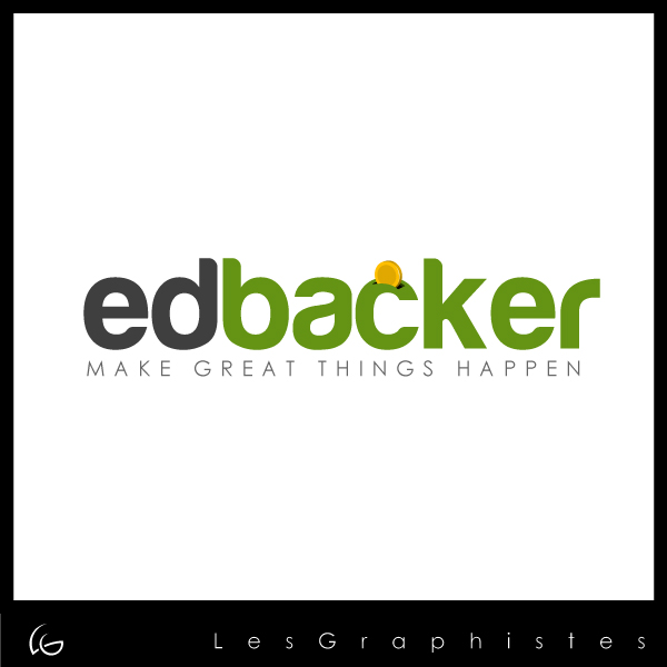 Logo Design by Les-Graphistes - Entry No. 99 in the Logo Design Contest New Logo Design for edbacker.