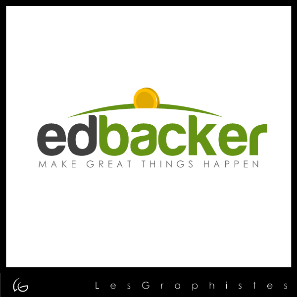 Logo Design by Les-Graphistes - Entry No. 100 in the Logo Design Contest New Logo Design for edbacker.