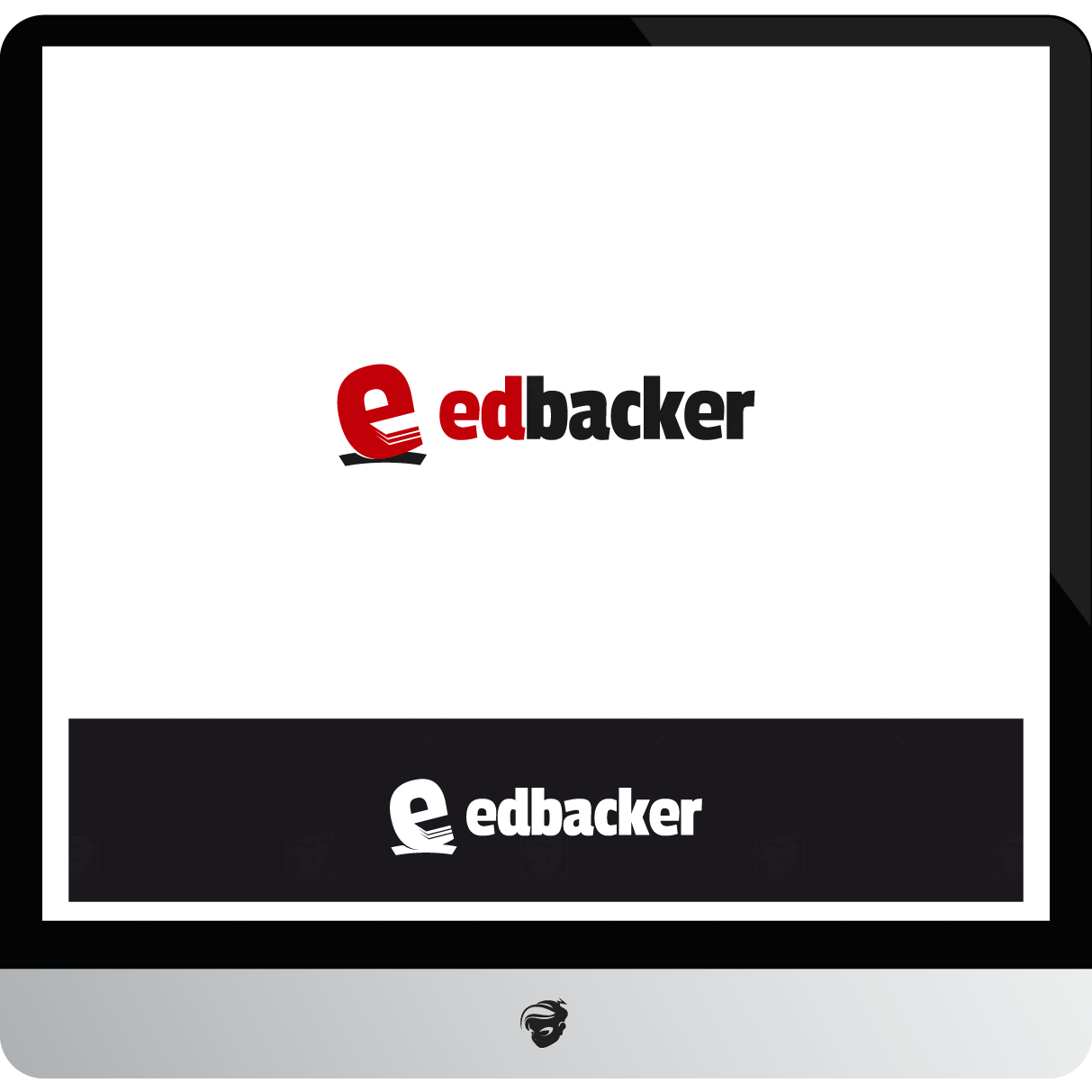 Logo Design by zesthar - Entry No. 102 in the Logo Design Contest New Logo Design for edbacker.